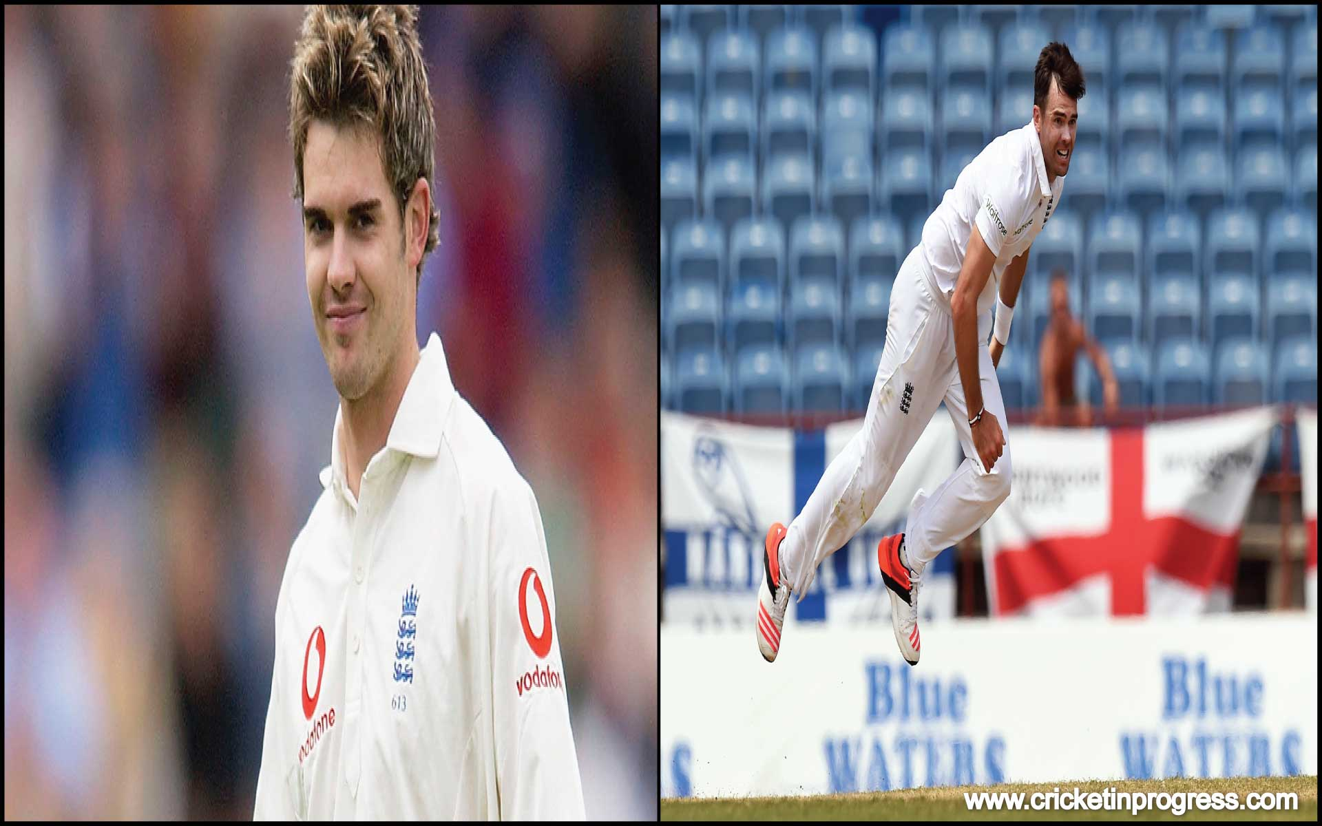 James Anderson The unsung fast bowling hero from England