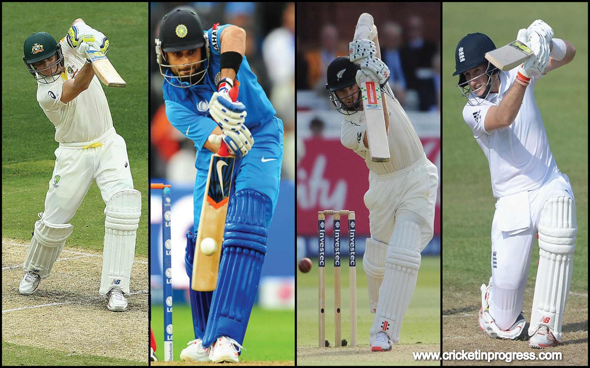The New Fab 4 of World Cricket