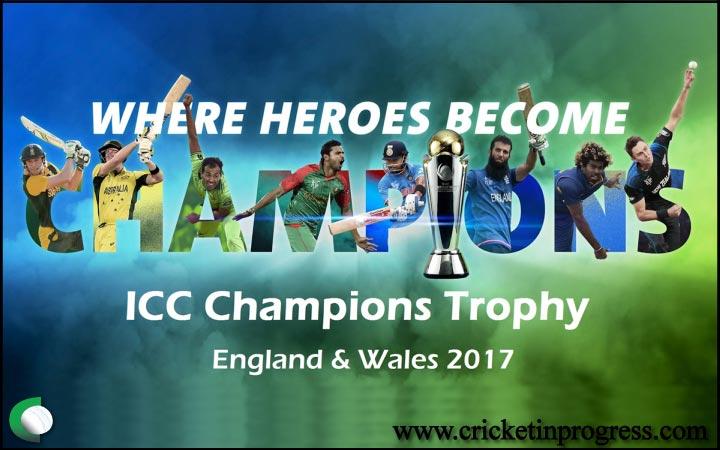 ICC Champions Trophy 2017, England
