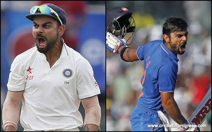 Virat Kohli's real 'test' begins now.