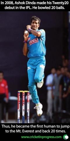 Ashok Dinda jump