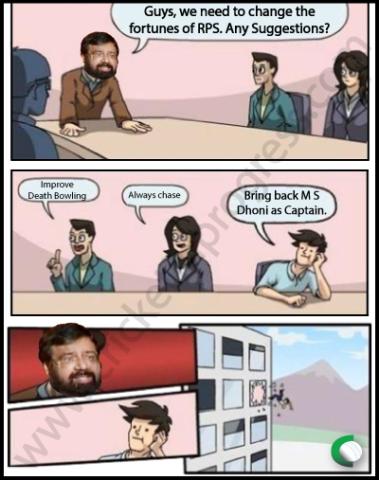 Boardroom Dhoni IPL