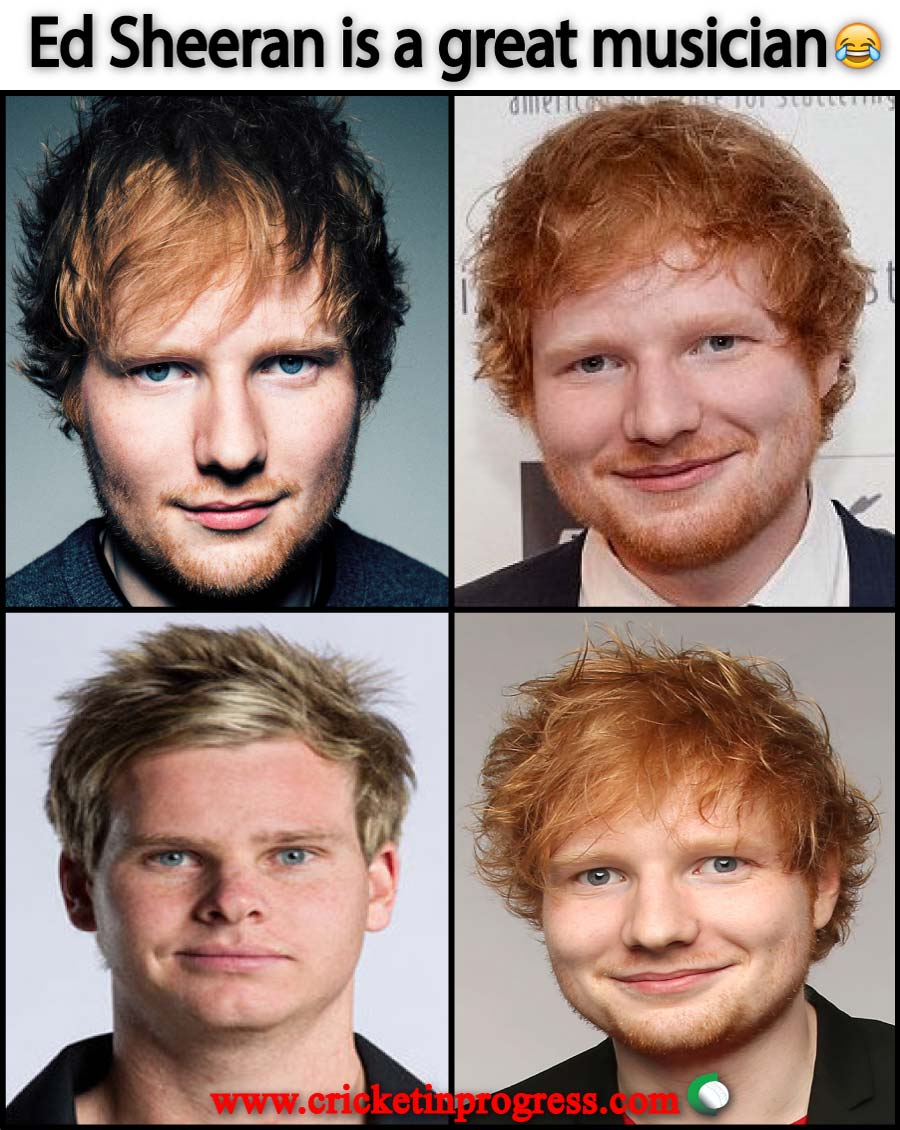Ed Sheeran Steve Smith