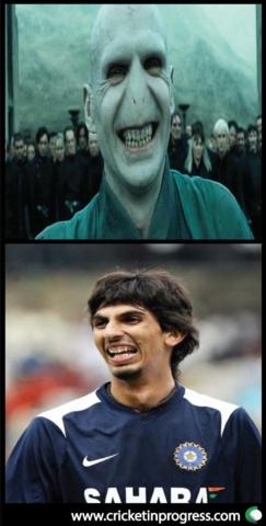 Ishant Sharma Voldemort
