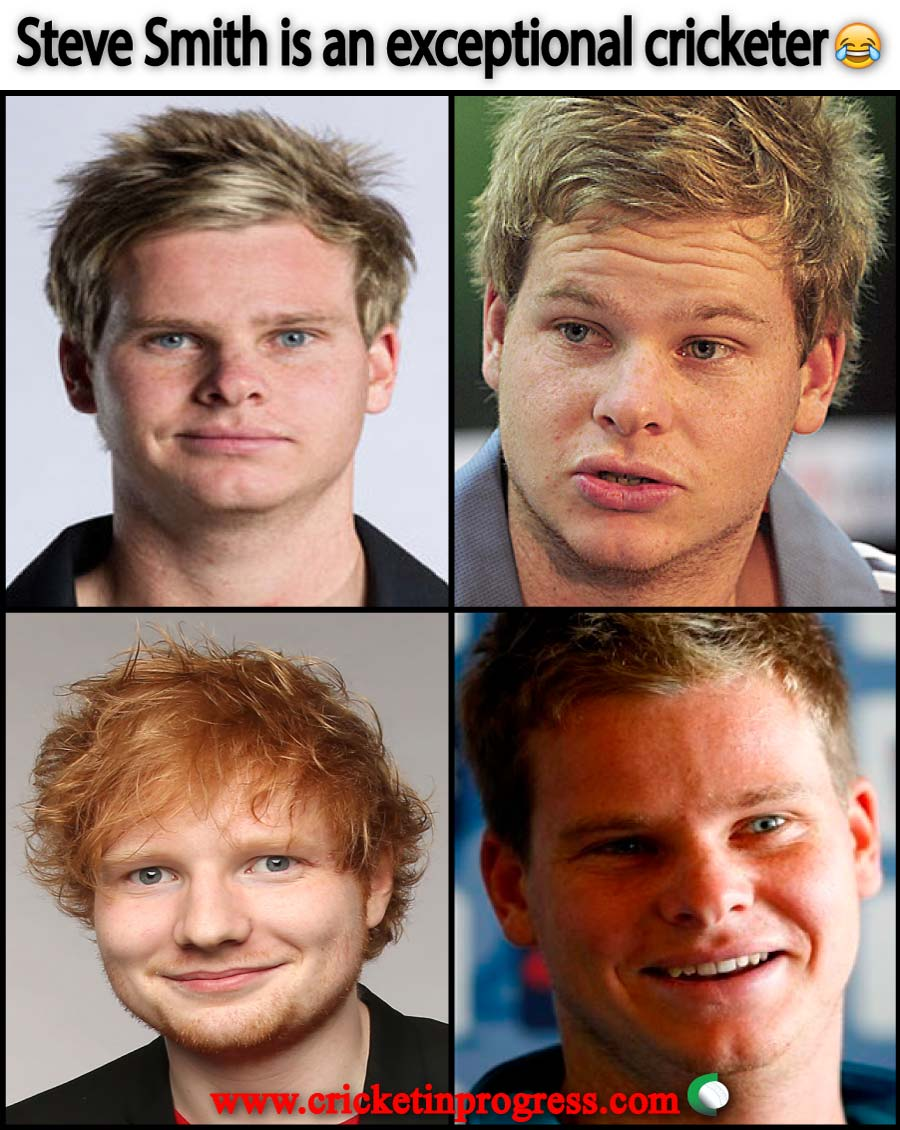 Steve Smith Ed Sheeran